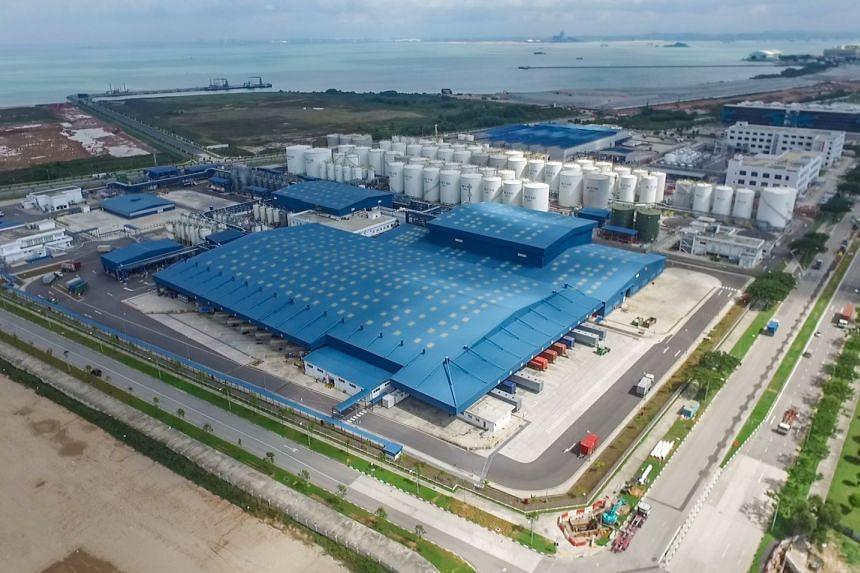 The Shell Tuas Lubricants Plant.