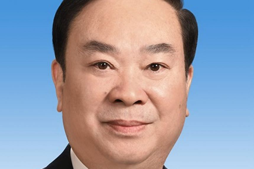 Mr Huang Kunming (top), 60, is the new head of propaganda of the Chinese Communist Party, while Mr Ding Xuexiang, 55, is director of the General Office of the party's Central Committee.