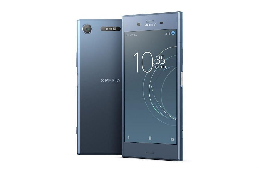 The Sony XZ1 has a smaller 5.2-inch screen and a matte finish that is less susceptible to fingerprints than the 5.5-inch XZ Premium's glossy finish.