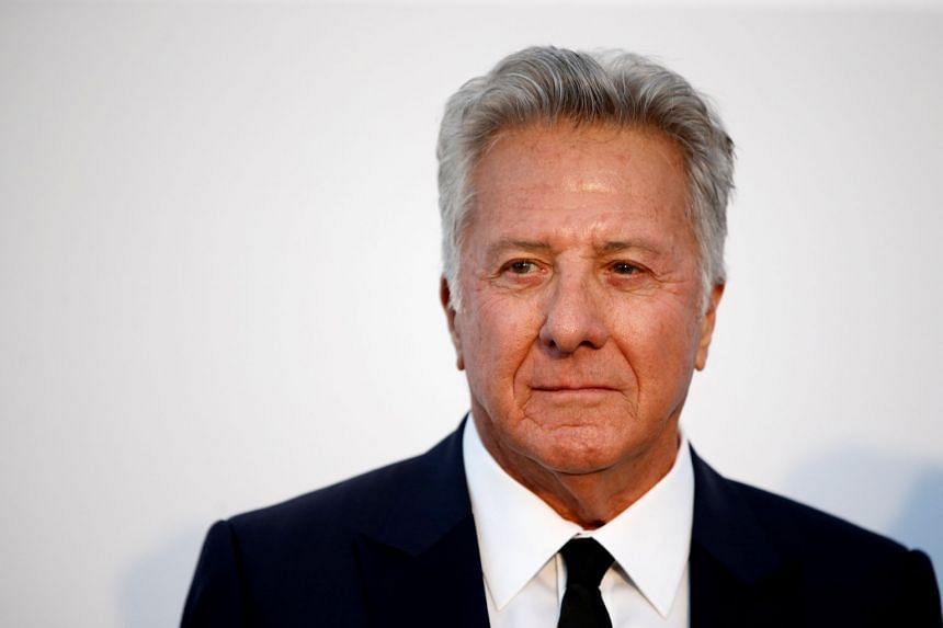 Actor Dustin Hoffman poses at a Cannes Film Festival event in May 2017.