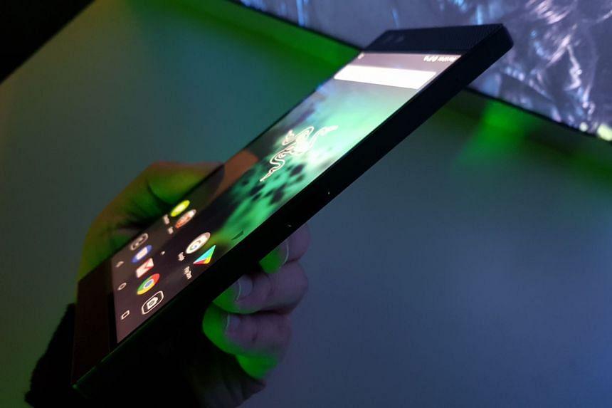 Razer's first smartphone, the gaming-centric Razer Phone.