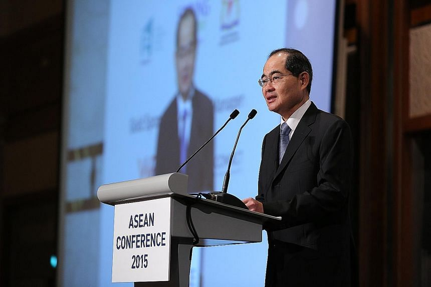 Minister for Trade and Industry (Trade) Lim Hng Kiang, who is also deputy chairman of MAS, says the authority is working with key industry players with a view to issuing a catastrophe bond in Singapore.