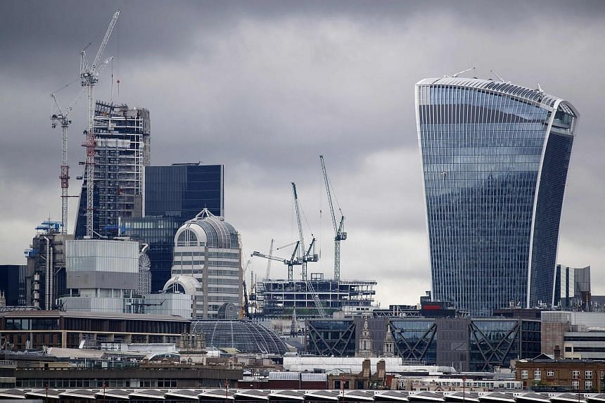 Skyscrapers in the City of London financial district. The Financial Stability Board noted that finance institutions are already using artificial intelligence and machine learning in assessing credit quality, pricing and marketing insurance contracts,