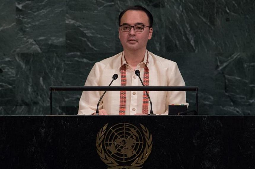 Philippine Foreign Minister Alan Peter Cayetano (pictured) said Philippine President Rodrigo Duterte would discuss the fight against terrorism, a key priority, with Asean leaders and regional partners.