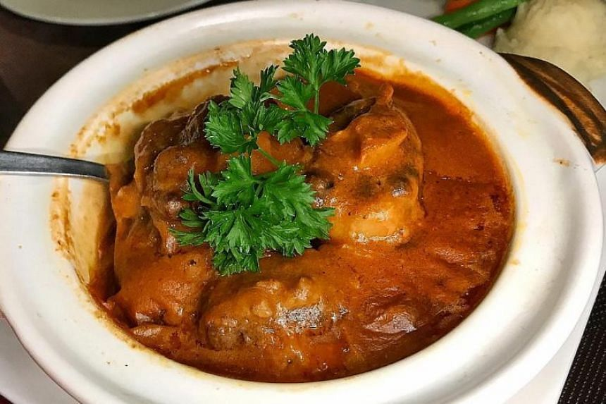 Braised Colonial Oxtail Stew.