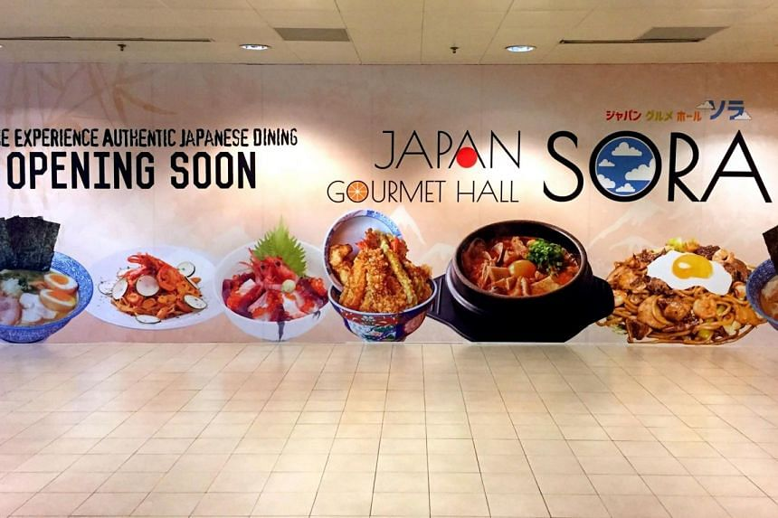 Japan Gormet Hall Sora, which can accommodate 300 diners, will be the biggest restaurant in Changi Airport.