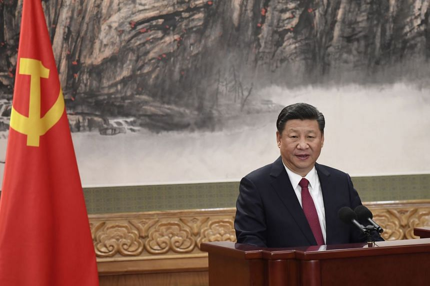 Xi sent the note after Kim congratulated him last week on a second term as general secretary of the Communist Party of China Central Committee.