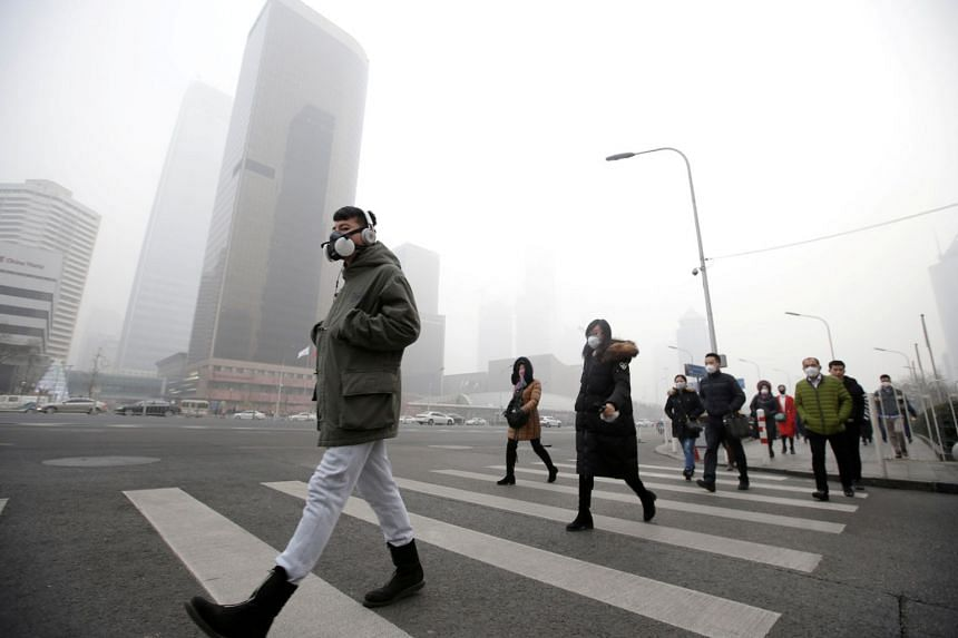 Large parts of northern China suffer from chronic smog during the bitterly cold winters because much of the heating demand is still met by coal.