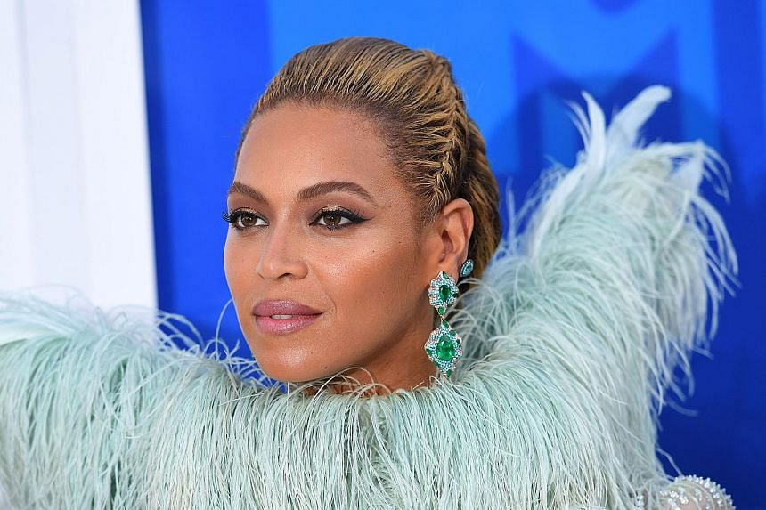 Pop queen Beyonce (left) will voice the role of Nala, the childhood friend of Simba.