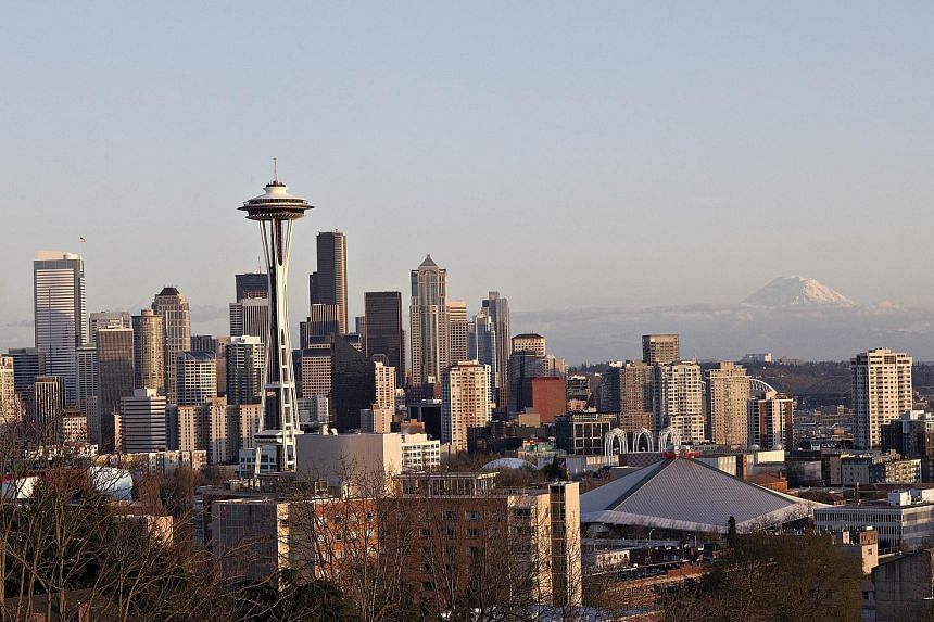 Keppel-KBS US Reit's IPO portfolio spans a net lettable area of 3.2 million sq ft across Seattle (above), Sacramento, Denver, Austin, Houston, Atlanta and Orlando. Close to 70 per cent is Class A.