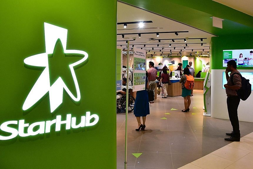 StarHub has declared an interim dividend of four cents per share, down from five cents a share in the same period last year. It said it intends to maintain the dividend of four cents per quarter per share for the rest of this year.