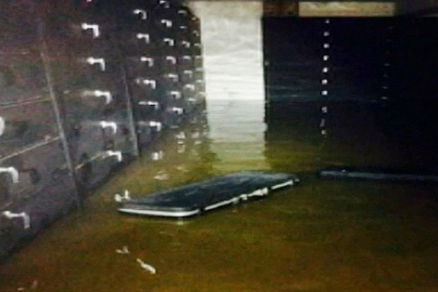 Flooding in the Singapore Rifle Association's basement armoury at the National Shooting Centre's premises in Choa Chu Kang Road in May 2015. The group succeeded in its claim of $4,708 against the Singapore Shooting Association in relation to this inc