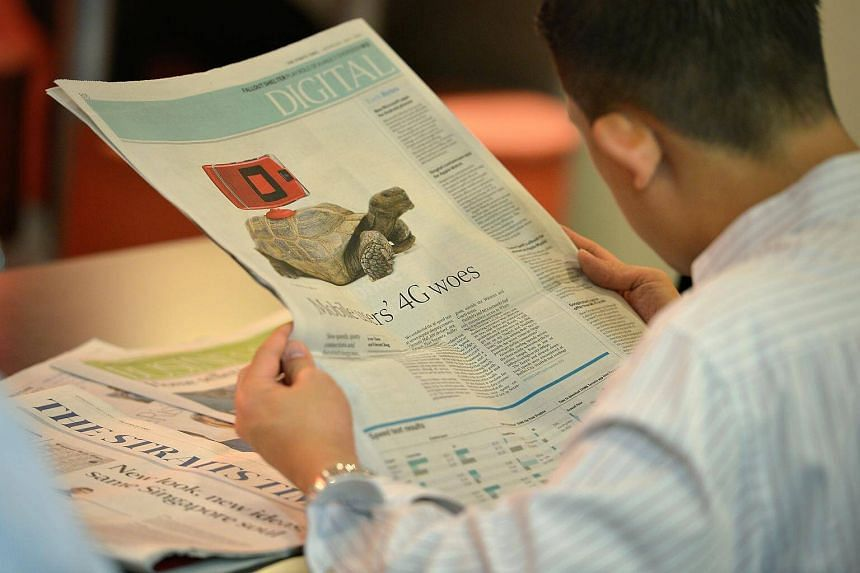 ST has maintained its position as the most-read English newspaper in Singapore, with a combined print and digital readership reach of 28.8 per cent on an average daily basis.