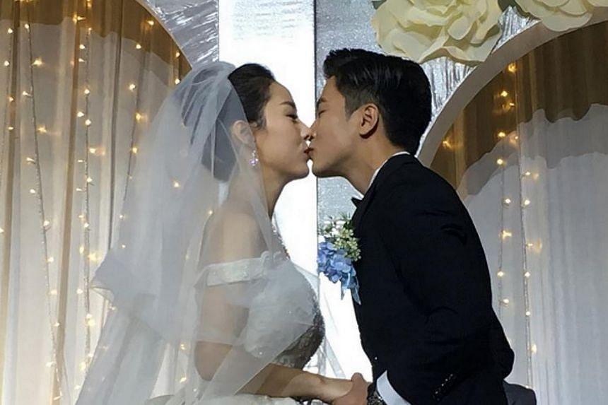 Channel 8 actor Xu Bin and  Evelyn Wang Yifei met three years ago at a friend's birthday party, and kept their relationship under wraps for two years.