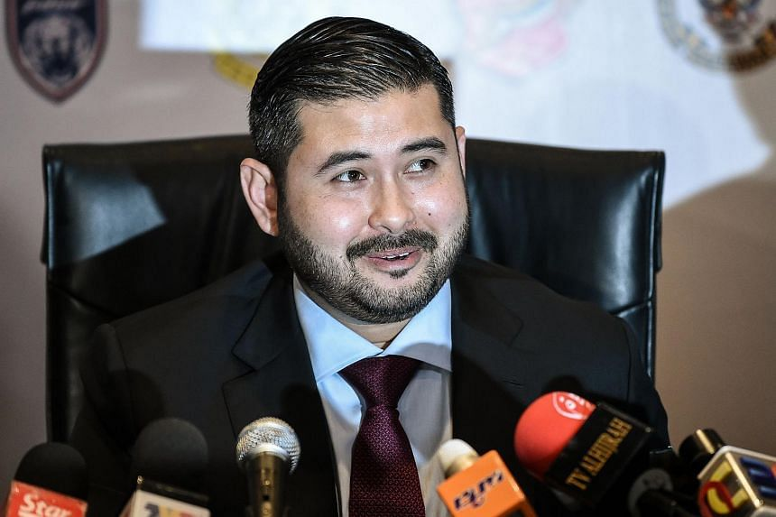 """""""Political agenda should not be mixed with politics. Kedah and Johor fans should not fight with one another,"""" said Johor crown prince Tunku Ismail Ibrahim."""