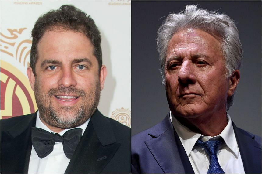 Producer Brett Ratner (left) and actor Dustin Hoffman are facing allegations from women who said they had sexually harassed or assaulted them.
