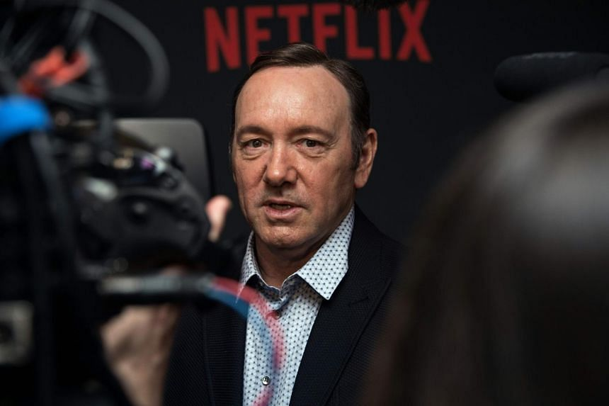 Kevin Spacey arriving for the season 4 premiere screening of the Netflix show House of Cards in Washington, DC.