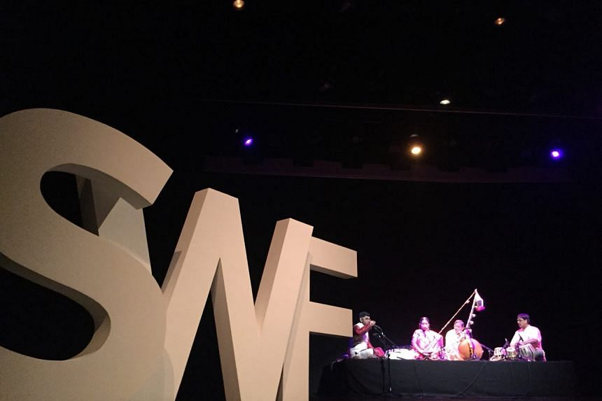 Opening ceremony of the 20th edition of the Singapore Writers festival on Nov 3, 2017.