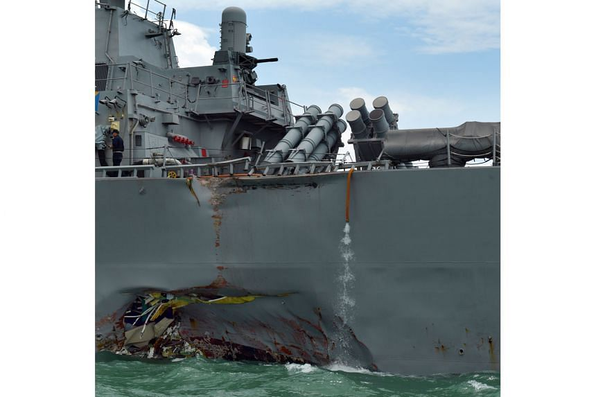 When the USS John S. McCain entered congested channels, the commanding officer did not station extra manpower on the deck to help with navigation in the early hours of the morning, despite recommendations to do so.