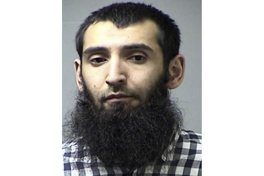 The accused, Sayfullo Saipov, was in court on Wednesday in a wheelchair.