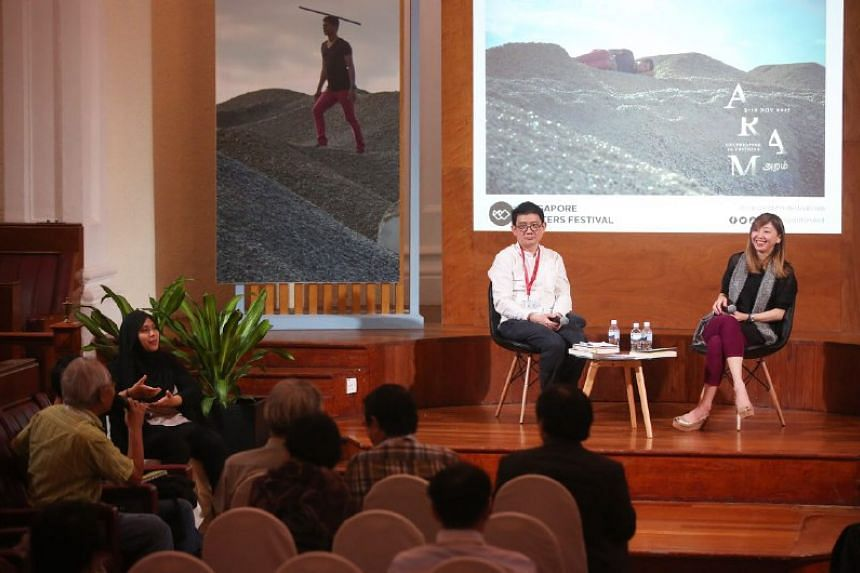 The Straits Times executive editor Sumiko Tan spoke about her writing and writing style during the session.