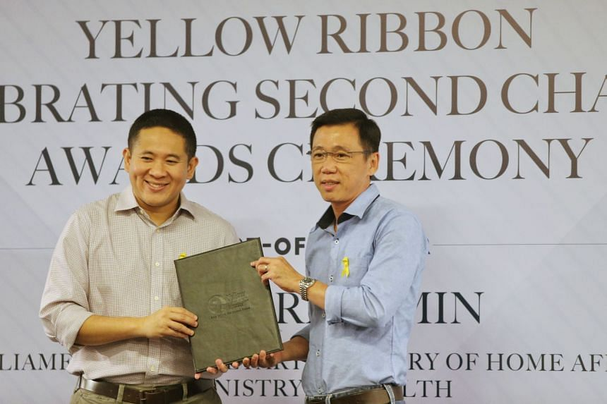 Mr Tan Han Lay was determined to help other ex-offenders turn over a new leaf. He was awarded for his contributions during the Yellow Ribbon Celebrating Second Chances Awards Ceremony 2017.