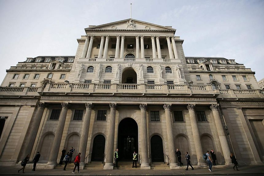 The Bank of England in London. Britain's central bank faces a major challenge in convincing people that its interest rate hike is linked to any results in controlling the country's inflation.