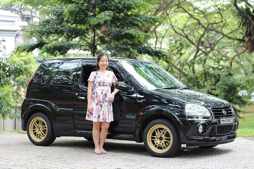 Ms Cai Simin has participated in driving events with the Suzuki Ignis Sport.