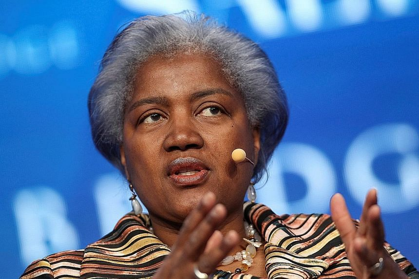 Ex-DNC chair Donna Brazile says a deal gave the Clinton campaign certain control over the party.
