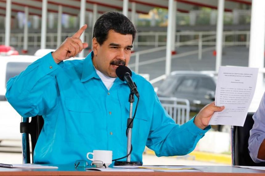 Venezuelan President Nicolas Maduro and members of his regime also face fresh sanctions for rights violations and corruption.