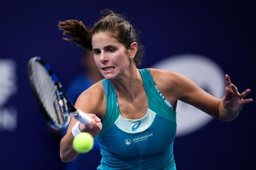 Julia Goerges is set to finish in the top 20 of the WTA rankings for the first time since 2012.