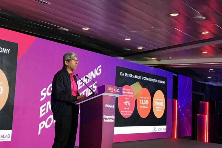 """""""The transformation of this sector will serve as a growth multiplier for other sectors of the economy,"""" Minister for Communications and Information Yaacob Ibrahim said."""