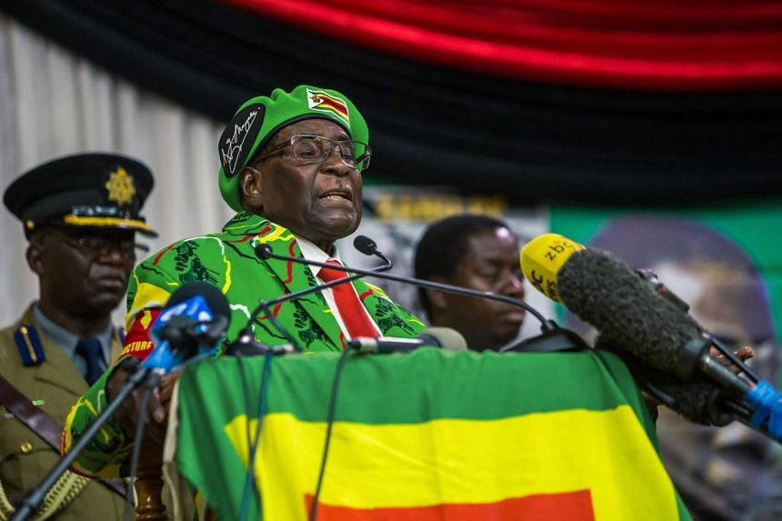 A US citizen had earlier been accused of insulting 93-year-old Zimbabwean President Robert Mugabe.