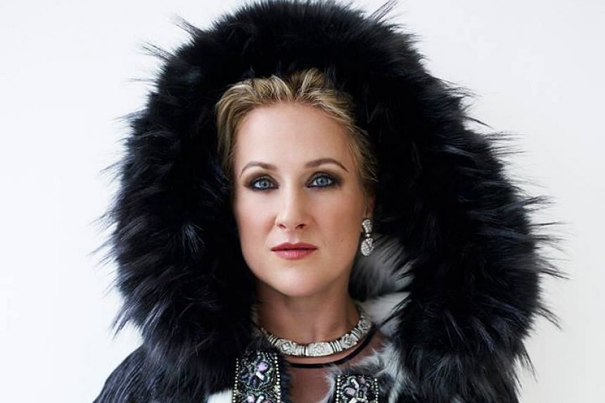 The concert's headline act was Teste's wife, soprano Diana Damrau.