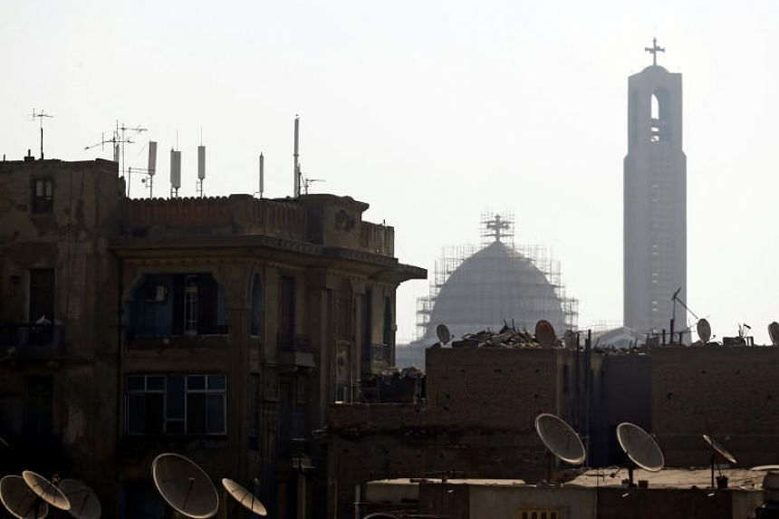 Old houses are seen around the main Coptic Cathedral in the capital of Cairo, Egypt. Minister for Communications and Information, Minister-in-charge of Cyber Security and Minister-in-charge of Muslim Affairs Dr Yaacob Ibrahim will visit Cairo during