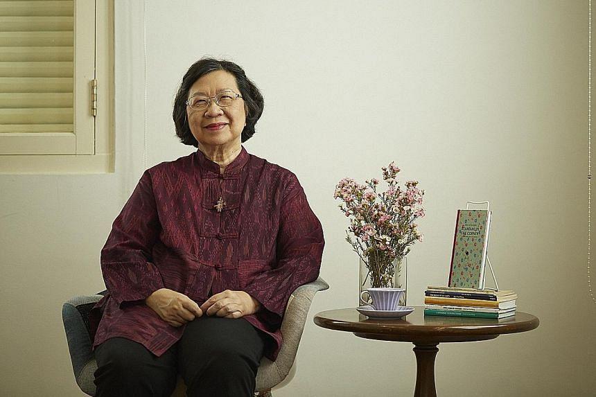 Veteran poet Lee Tzu Pheng was speaking at an SWF event yesterday.