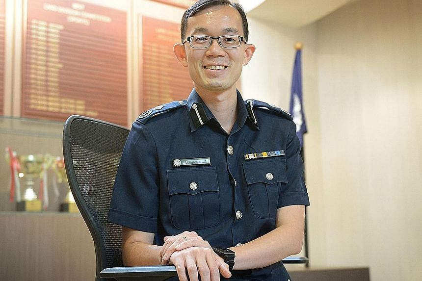 Assistant Commissioner Lian Ghim Hua oversees major crime cases, including homicides and kidnappings, in his new role.