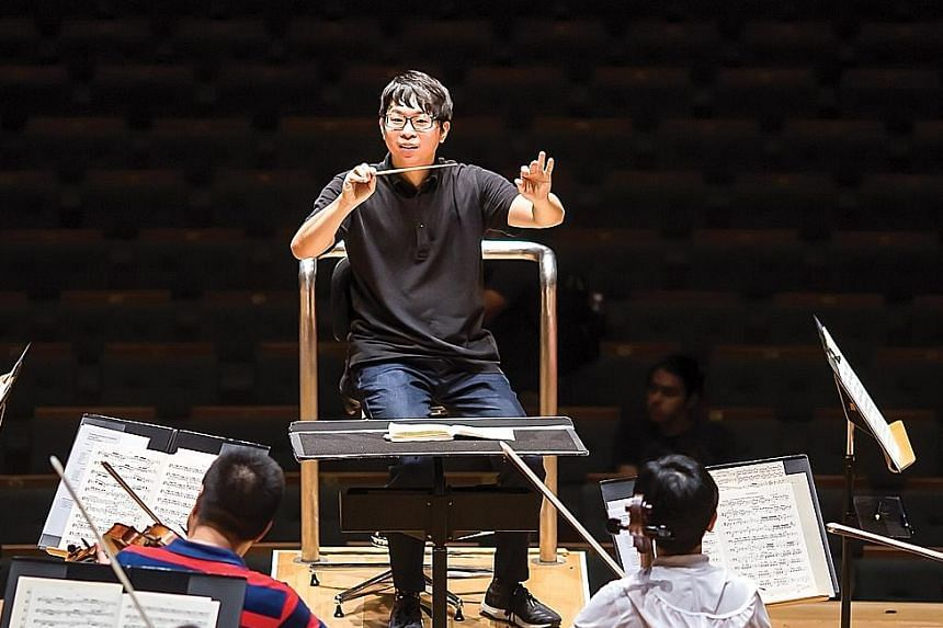 Conductor Wong Kah Chun's Project Infinitude is aimed at helping children.