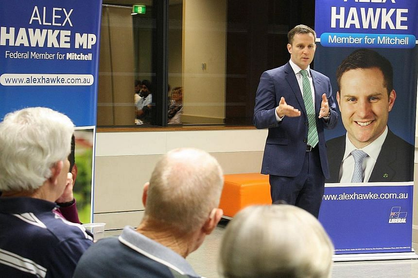 Lawmaker Alex Hawke was born to a Greek mother who immigrated to Australia in the 1950s and automatically obtains citizenship even if it is not exercised.