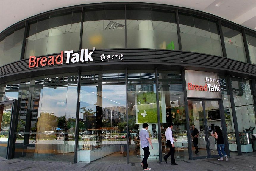Breadtalk's group revenue for first nine months declined 2.6 per cent year on year to S$449.5 million.