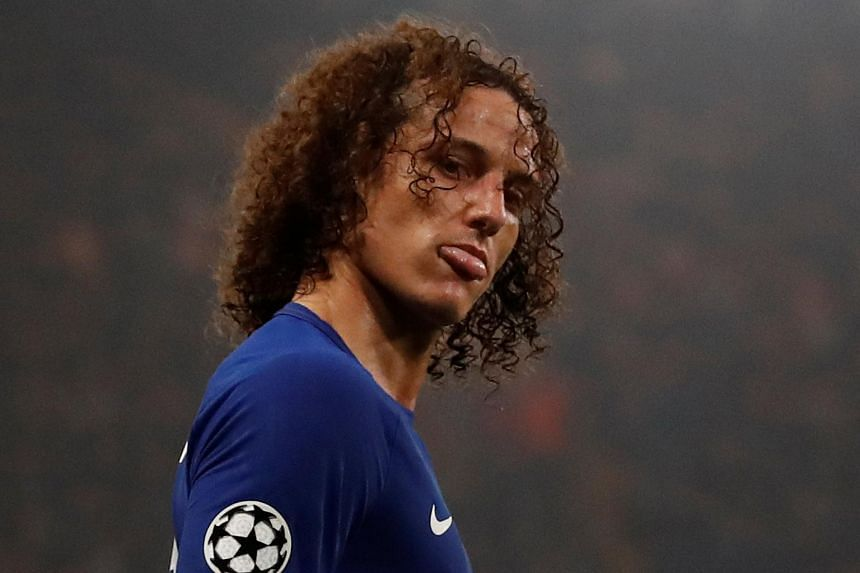 David Luiz paid the price for some sloppy performances as Blues boss Antonio Conte left him out of the squad at Stamford Bridge on Sunday.
