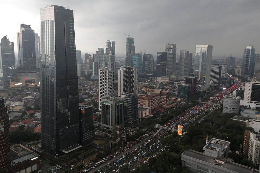 Indonesia's economy expanded at a slower pace in the third quarter than economists expected.