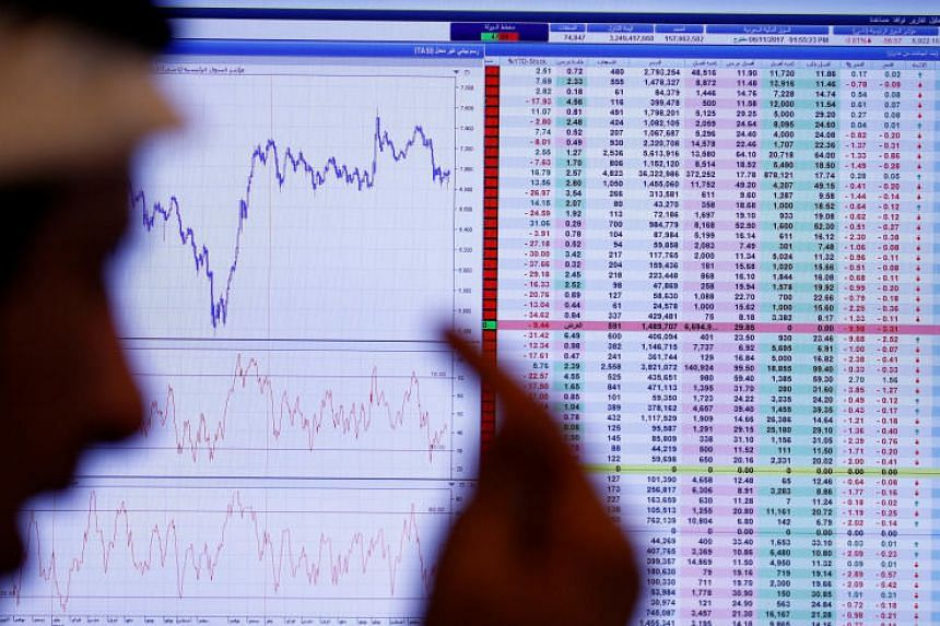 The Saudi stock index was down 1.1 per cent in early trade, and Al Tayyar Travel plunged 10 per cent in the opening minutes after the company quoted media reports as saying board member Nasser bin Aqeel al-Tayyar had been held by authorities.