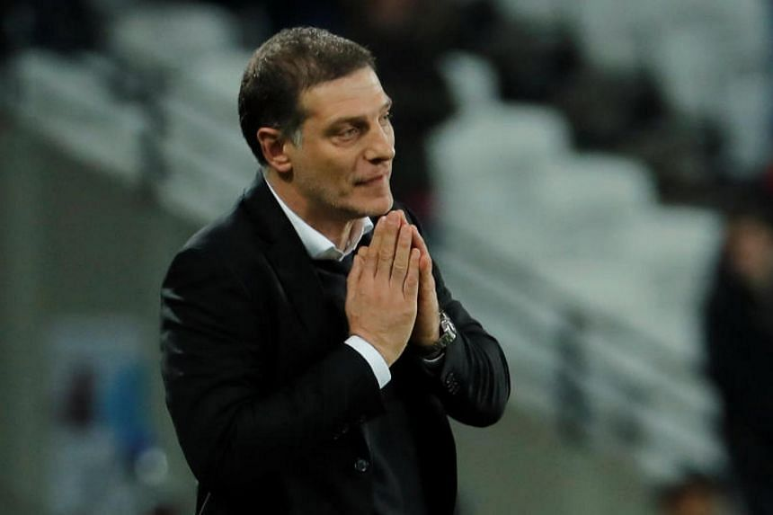 West Ham United manager Slaven Bilic after the Premiere League match between West Ham United and Liverpool on Nov 4, 2017.
