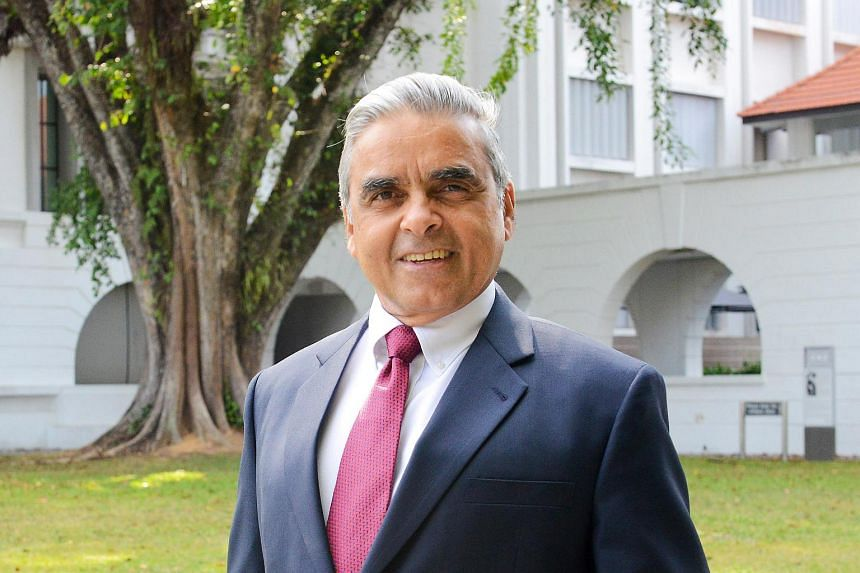 Mr Kishore Mahbubani will be stepping down as dean of the Lee Kuan Yew School of Public Policy on Dec 31.
