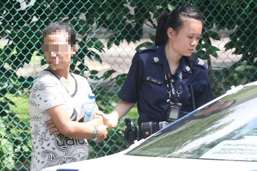A 26-year-old woman was arrested for traffic-related and drug-related offences after leading police on a car chase in Jurong East on Nov 5, 2017.