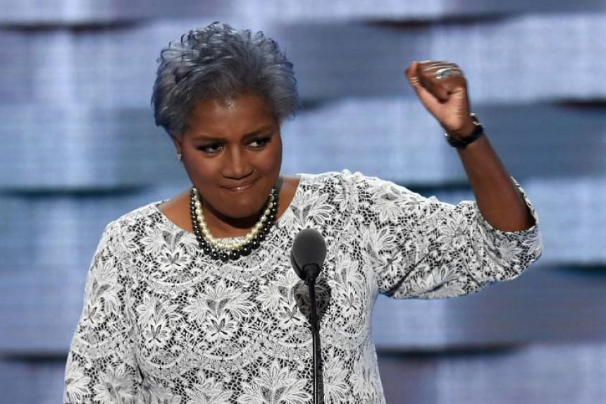 DNC Vice-Chair Donna Brazile during Day 2 of the Democratic National Convention at the Wells Fargo Center in Philadelphia on July 26, 2016.