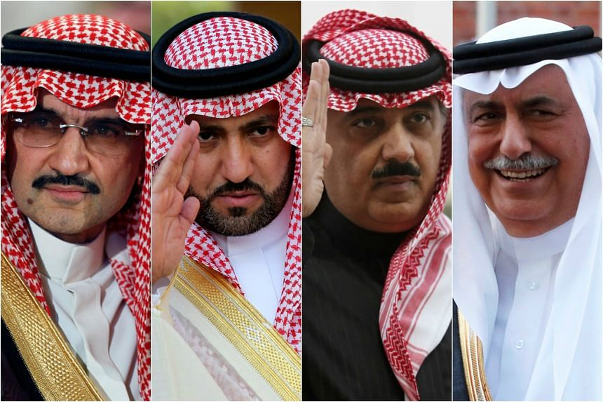 Saudi princes accused of bribery, embezzlement, money