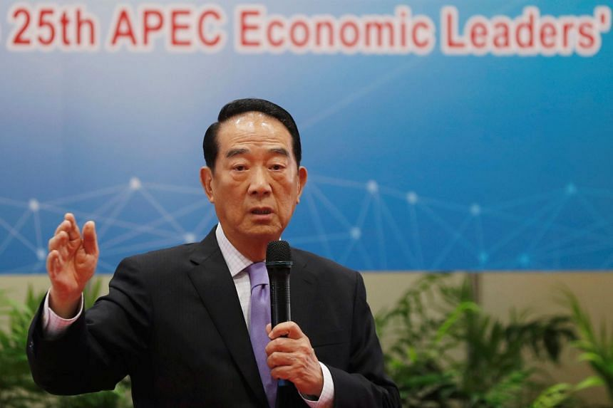 Taiwan's Apec envoy James Soong said President Tsai Ing-wen had both pointed out to him and said publicly that Taiwan was willing to engage with China.