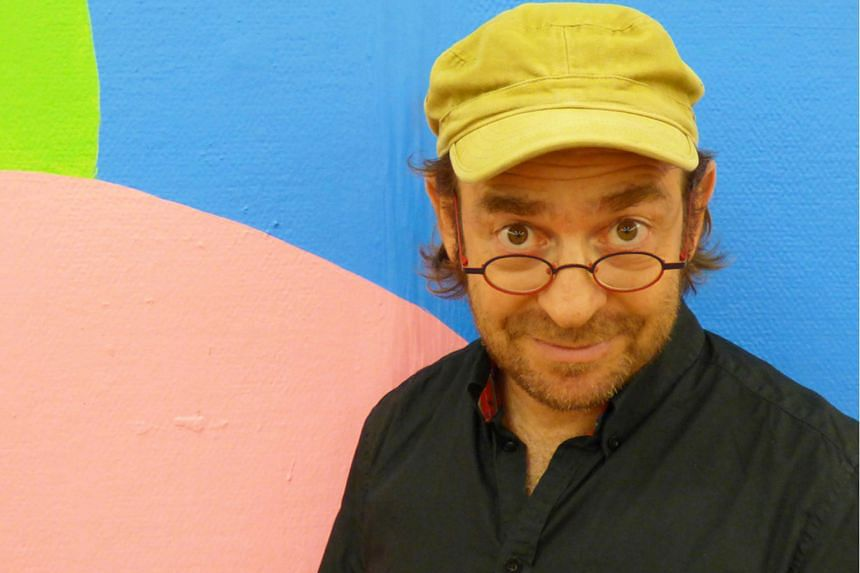 Mixed-media artist Hanoch Piven (above) is best known for his caricatures of well-known people using everyday objects, such as those of US President Donald Trump and Mr Trump's predecessor, Mr Barack Obama.